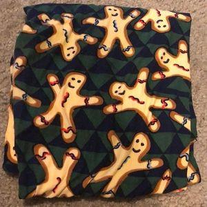 Lularoe OS gingerbread leggings